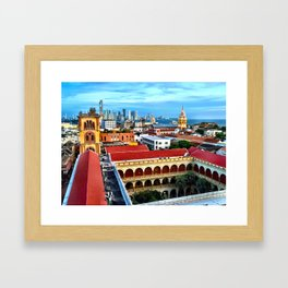 Cartagena, Colombia Framed Art Print