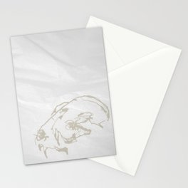 Pale Skull Stationery Cards