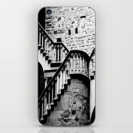 The Stairs at Poppi Castle iPhone Skin