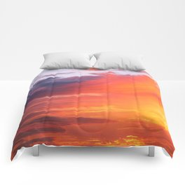 Alternate Sunset Dimensions Comforters