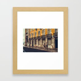 Europe travel diary by dayDREAM Framed Art Print