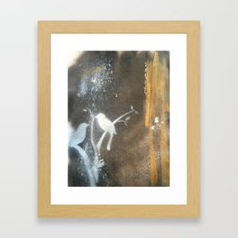 and this night was magical Framed Art Print