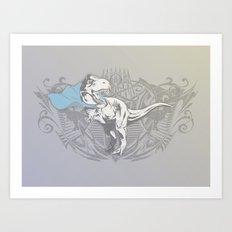 Fearless Creature: Rexy Art Print