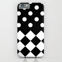 INTERIOR (BLACK-WHITE) iPhone Case