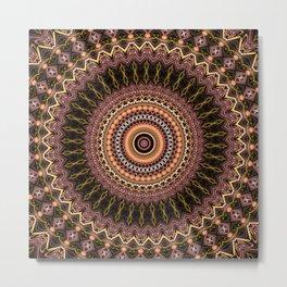 pp Mandala Metal Print