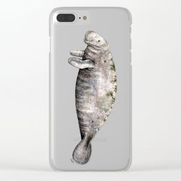 Manatee Clear iPhone Case