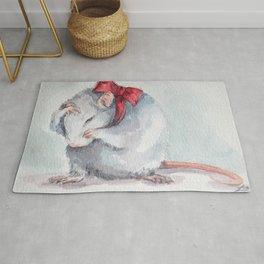 Rat bow Rug