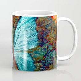 The Blue butterfly Coffee Mug