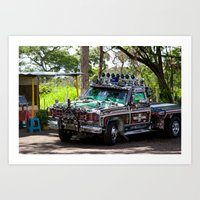 truck Art Prints featuring Truck by Rafael Andres Badell Grau
