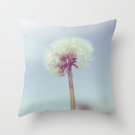 Fine and Dandy Throw Pillow