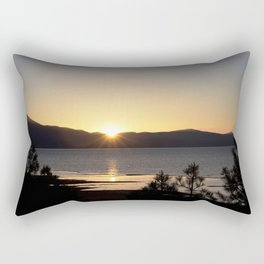 A Moment of Peace - South Lake Tahoe, California Rectangular Pillow