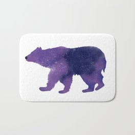 Some Bear Out There, Galaxy Bear Bath Mat