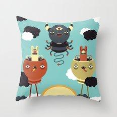 Sky Warden Throw Pillow
