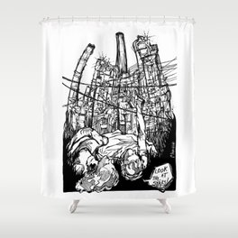 Look at the stars! Shower Curtain