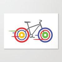bike Canvas Prints featuring Bike! by Alice Wieckowska