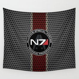 N7 Wall Tapestry