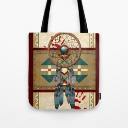 Catching Spirit Native American Tote Bag