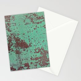 Copper Rusty Surface Stationery Cards