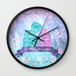 Life and Love According to Covinsky. To All the Boys I've Loved Before Wall Clock