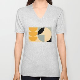 Soft Summer - Geometric Pattern Unisex V-Neck