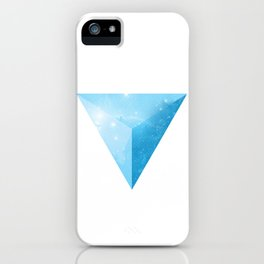 cosmic triangle iPhone Case