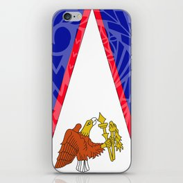 American Samoa Flag iPhone Skin