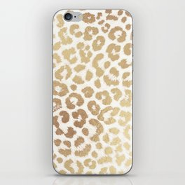 ReaL LeOpard - Greek Ancient Gold iPhone Skin