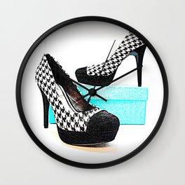 Shoe Lust Wall Clock