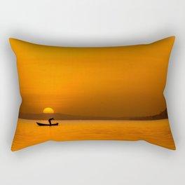 Jinja Sunrise Rectangular Pillow