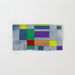 Mid-Century Modern Art - Rainbow Pride 1.0 Hand & Bath Towel