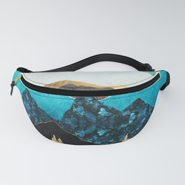 Teal Afternoon Fanny Pack