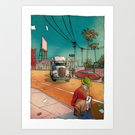 Californium | Truck Art Print