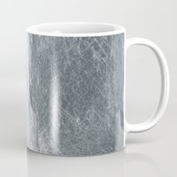 silver Mugs featuring Silver by Patterns and Textures