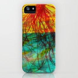 Tree Stars iPhone Case