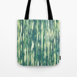 Ikat Streaks in Forest Tote Bag