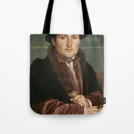 Vintage Tudor portrait Hans Holbain Tote Bag