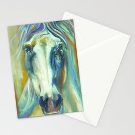 Horse in Color Stationery Cards