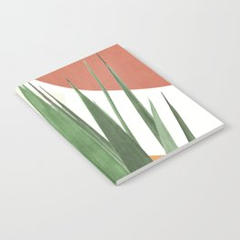 Abstract Agave Plant Notebook