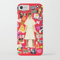 cara iPhone & iPod Cases featuring Cara by Neon Wonderland