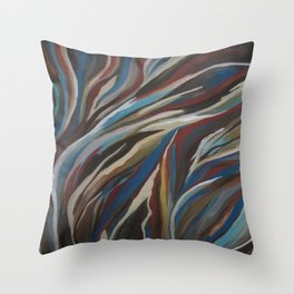 Nature Flow Throw Pillow
