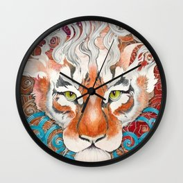 Cinnamon Buns and Dragons Wall Clock