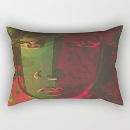 Stay Wild and Kiss Me Rectangular Pillow
