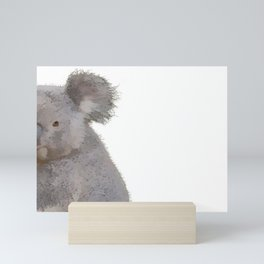 Grey Koala Mini Art Print