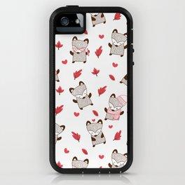 Winter Fox iPhone Case