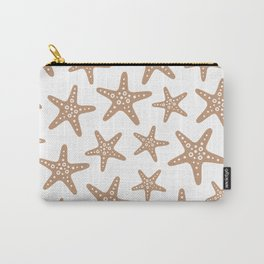 Sweet Starfish Pattern 223 Beige Carry-All Pouch
