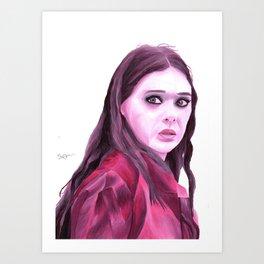 Wanda Maximoff Art Print