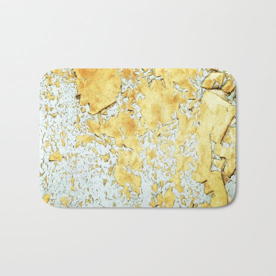Gold #society6 #decor #buyart Bath Mat