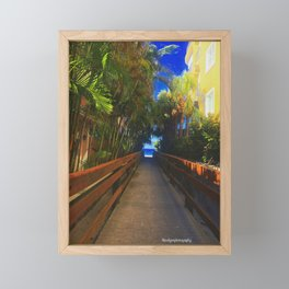Entry Way To Paradise Framed Mini Art Print