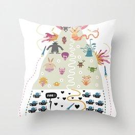HollyWar Throw Pillow
