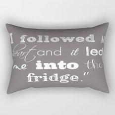 The Fridge Rectangular Pillow